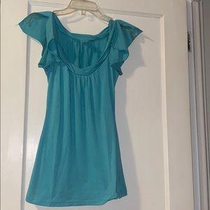 Zoah Design turquoise top